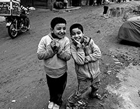Street Photography - Egypt - digital Black & White