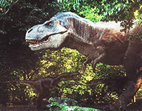 Jurassic Park CG V2