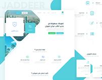 Jaddeer - Insurance Company Landing page Ver_2