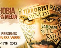 Islamophobia - MSA Event Poster/Flyer