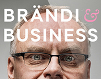 Brändi & business book cover design