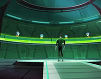 Green Lantern TAS - Concept Art