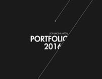 Industrial Design Portfolio 2016
