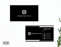 Free Unique Modern Business Card Template