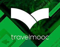 Logotype design for education startup Travel Mooc