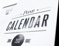 Pose Calendar - Media kit