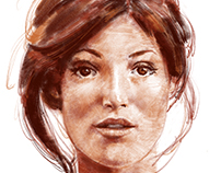 Pioneers - Natalia Vorovna Character design