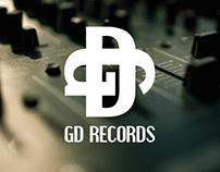 "Corporate Identity ""GD Records"" Gabriel Deville"