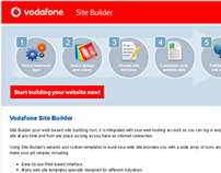 Vodafone Site Builder (2009)
