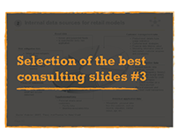 Collection of consulting slides made with graphics #3