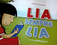 """Children's book illustration """"Lia Sempre Lia"""""""