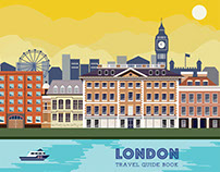 Lonely Planet Travel Guide Book: London Edition
