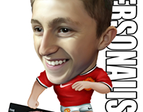 Personalised Football Caricatures