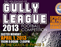 Gully League Flyer