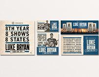 Luke Bryan | Farm Tour Rebrand