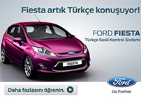 Animations for New Ford Fiesta rich media launch banner