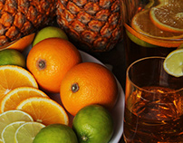 Food Styling: Citrus & Pineapple