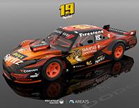 Dodge GTX TC Argentina - 3D Concept
