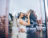 Нежнейшее утро хрупкой невесты Юлии