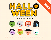 HALLOWEEN emoji character FREE DOWNLOAD
