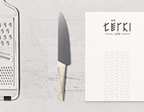 Identity for cafe Terki