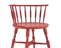 Sausage link chair