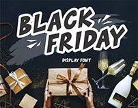 Black Friday Font