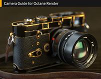 Camera Guide for Octane Render