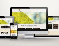 HomoData Web Design