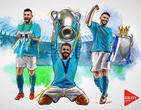 Mahrez Cup Illustration