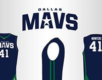 Dallas Mavericks Uniform Concept