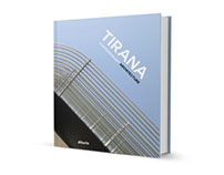 BOOK cover design - TIRANA Contemporary Architecture