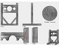 Anatomy: Concept Art Medieval