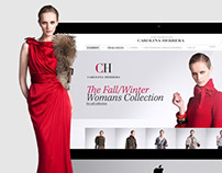 Carolina Herrera Website