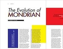 Mondrian Magazine Spread