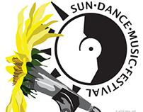 Sundance Music Festival mock up design