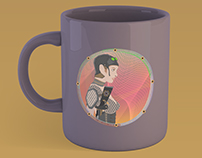 Illustration Digital Art Mugs