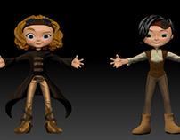 Steampunk Fashion Dolls