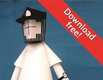 -ESSEVATILLO- free papertoy