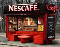 OOH - Nescafe Cafe Bus Stop