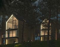 Modern Houses 3d Visualizations