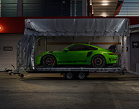 Porsche GT3 RS Campaign for Kemper Kommunikation