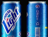 propuesta nueva imagen para latas polar Light
