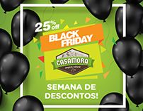 Casamora Empório Natural - Black Friday - 2016