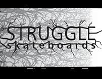 Struggle Skateboards (skateboard design)