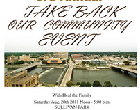 Take Back our Community.