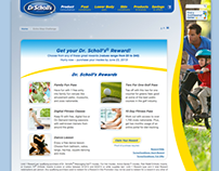 Dr. Scholls Rewards Microsite