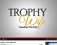 Logo Design for Trophy Wife Trailer (ABC)