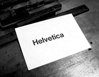 typeface presentation