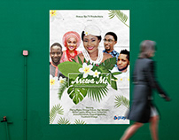Movie poster design for 'Arewa Mi'.
